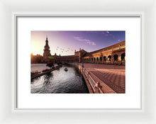 Load image into Gallery viewer, Plaza De Espana - Framed Print