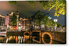 Load image into Gallery viewer, Predawn Stillness, Amsterdam - Canvas Print