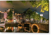 Load image into Gallery viewer, Predawn Stillness, Amsterdam - Acrylic Print