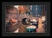 Load image into Gallery viewer, Retro'dam - Framed Print