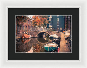 Retro'dam - Framed Print