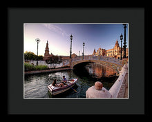Load image into Gallery viewer, Rowing Amidst Splendor - Framed Print