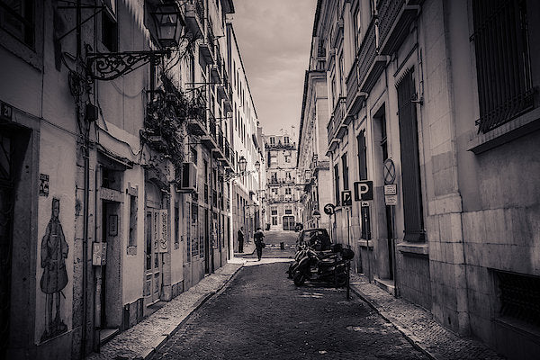 Street Views. Lisbon - Art Print