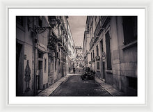 Load image into Gallery viewer, Street Views. Lisbon - Framed Print