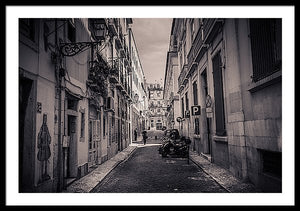 Street Views. Lisbon - Framed Print