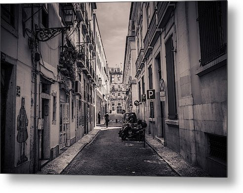 Street Views. Lisbon - Metal Print