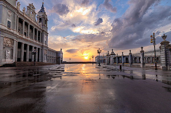 The Palace. After The Rain - Art Print