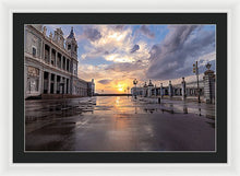 Load image into Gallery viewer, The Palace. After The Rain - Framed Print
