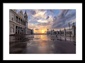 The Palace. After The Rain - Framed Print