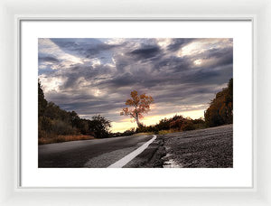 The Tree Of Light - Framed Print