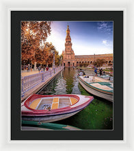 Load image into Gallery viewer, View Of The Moat - Framed Print