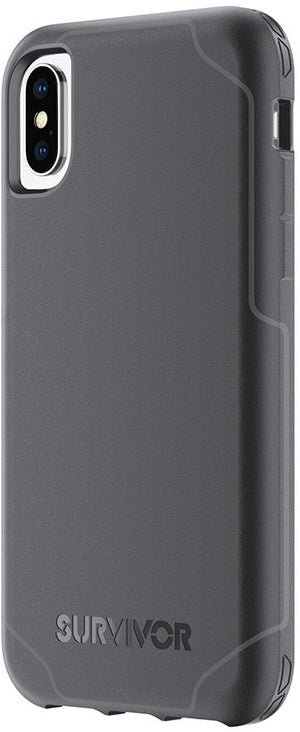 Griffin Survivor Strong Case for Apple iPhone X/XS - Black/Grey - TA43986
