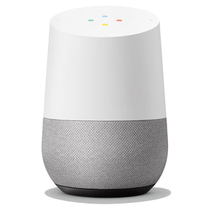 Google Home Medium Sized Smart Speaker | Voice Recognition & Google Assistant - Chalk