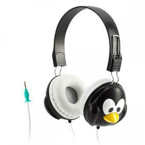Griffin KaZoo MyPhones Penguin Over Ear Headphones - Black/White - GC35863
