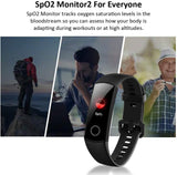 Honor Band 5 Fitness Tracker, Activity Health Exercise Watch with Heart Rate and Sleep Monitor, Smart Band Calorie Counter, Pedometer - Black or Navy