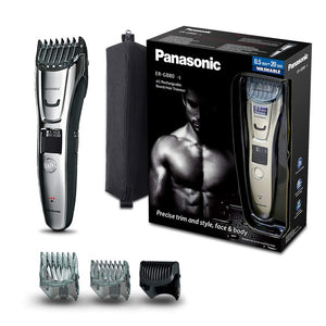 Panasonic ERGB80 Beard, Hair and Body Trimmer Wet and Dry - ER-GB80S