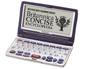 Seiko ER8100 Britannica Concise Encyclopedia Crossword, Anagram, Abbreviation Solver Dictionary