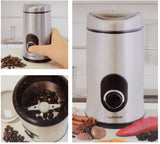 Lloytron Coffee & Spice Grinder Brushed Stainless Steel | 150w - E5602SS