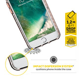 Griffin Survivor Clear Case Cover for Apple iPhone 8/7/6 - Smoke - TA43827