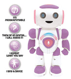 Lexibook Powergirl Junior Educational Dancing Interactive Robot with Remote - Pink - ROB20GEN