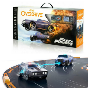 Anki Overdrive: Fast And Furious Edition Smart Race Track Scalextric Kit with 2 Cars (Age 8+)