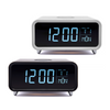 Groov-e Athena Touch Control LCD Display Alarm Clock, Wireless Charger & Night Light - GVWC01