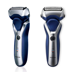 Panasonic ESRT37 Merns 3 Blade Electric Foil Shaver Wet and Dry - Blue/Silver