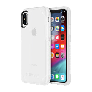 Griffin Survivor Strong Case for Apple iPhone X/XS - Clear - GIP-008-CLR