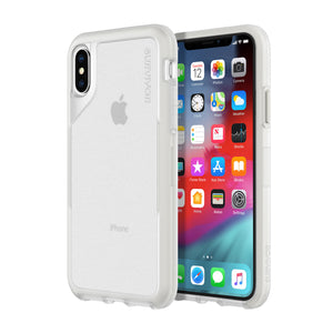 Griffin Survivor Endurance Case for Apple iPhone X/XS - Clear/Grey - GIP-010-CGY