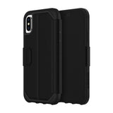 Griffin Survivor Strong Wallet Case for Apple iPhone XS - Black - GIP-020-BLK