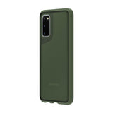 Griffin Survivor Strong Protective Case for Samsung Galaxy S20, S20+, S20 Ultra - Black, Clear & Green