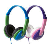 Groov-e Kiddiez DJ Style Headphones with Volume Limiter - GV591