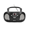 Groov-e Boombox Portable CD Player with Radio/Aux In/Headphone Jack - GVPS733