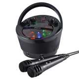 Groov-e Portable Karaoke Boombox with CD Player and Bluetooth Playback - GVPS923BK