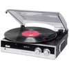 Groov-e Vintage Vinyl Record Player Turntable with Built-in Speakers - GVTT01BK