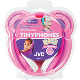 JVC Tiny Phones Kids Stereo Headphones with Volume Limiter - 3 Colours - HAKD7