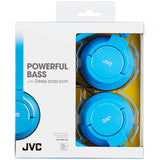 JVC Foldable Lightweight Powerful Bass Over-Ear Headphones - HAS180