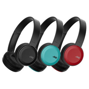 JVC On Ear Bluetooth Wireless Foldable Headphones with Dynamic Deep Bass Boost - 3 Colours - HAS30BT