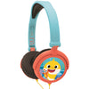 Lexibook Kids Foldable Stereo Disney Pixar Headphones with Volume Limiter - 13 Characters