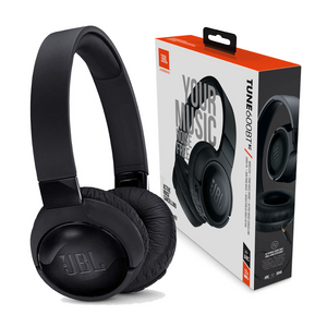 JBL Tune 600BTNC Over Ear Active Noise-Cancelling Bluetooth Headphones with Mic - Black - JBLT600BTNCBLK