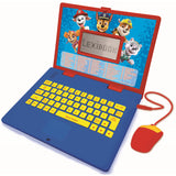 Lexibook Paw Patrol Bilingual Educational Laptop with 124 Activities | English & German - JC598PAi3