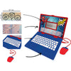 Lexibook Spiderman Bilingual Educational Laptop with 124 Activities | English & French - JC598SPi1