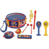 Lexibook 7 Piece Musical Instrument Set Toy for Kids Age 3+ - Frozen II, Paw Patrol & Peppa Pig - K360