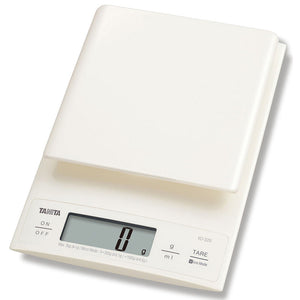Tanita Digital Kitchen Scale (Max 3kg) - Cream - KD320WH