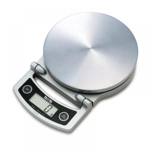 Tanita Compact Digital Lithium Kitchen Scale (Max 5kg) - Silver - KD400SV