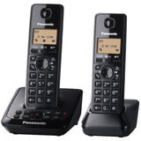 Panasonic KX-TG2722EB Twin Digital Cordless Phone with Answer Machine