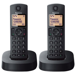 Panasonic KX-TGC312EB Twin Digital Cordless Phone with Nuisance Call Blocker