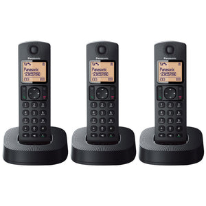 Panasonic KX-TGC313EB Trio Digital Cordless Phone with Nuisance Call Blocker
