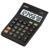 Casio MS8B Calculator for Office, Desktop, Business & Students - Black - MS8 / MS8-B