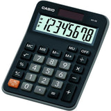 Casio MX-8 Calculator for Office, Desktop, Business & Students - Black - MX8B-BLK